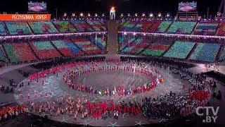Белорусы на закрытии Олимпиады-2018 в Пхенчхане | Кадры с церемонии