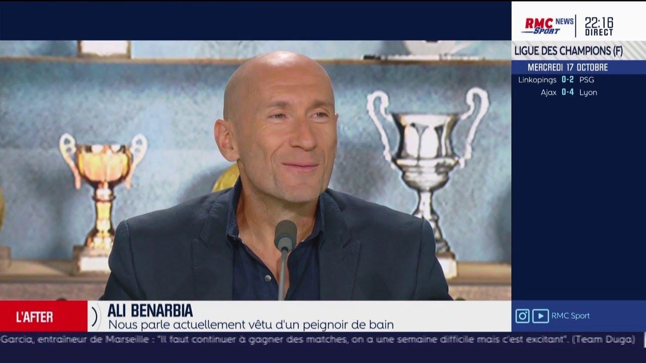 Ali Benarbia raconte sa rencontre avec Thierry Henry... en peignoir à Monaco
