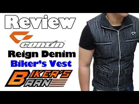 Contin Reign Denim Vest Review at Bikersbarnid.com