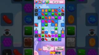 Candy Crush Saga Level 696 - NO BOOSTERS