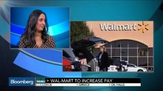 Wal-Mart Boosting Wages for 500,000 U.S. Workers