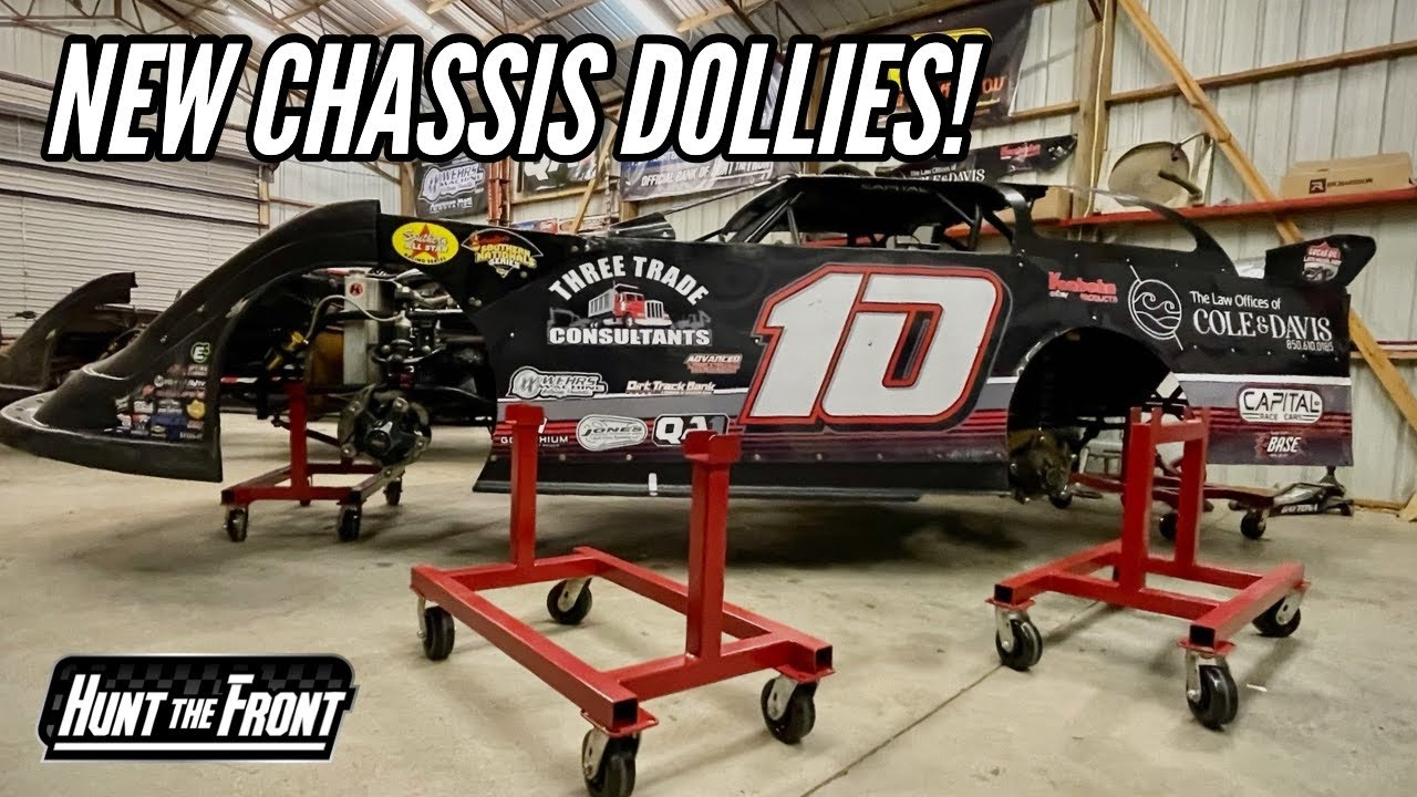 Volusia Clean Up and NEW CHASSIS DOLLIES for the Race Shop