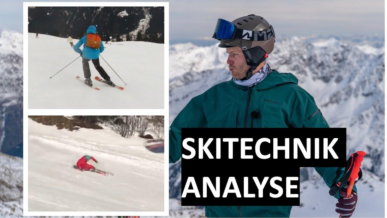 Skilehrer bewertet eure Skitechnik   Skifahren lernen
