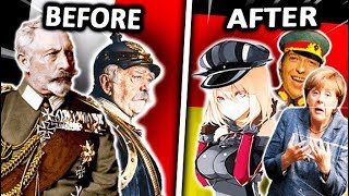 GERMANY BEFORE vs AFTER