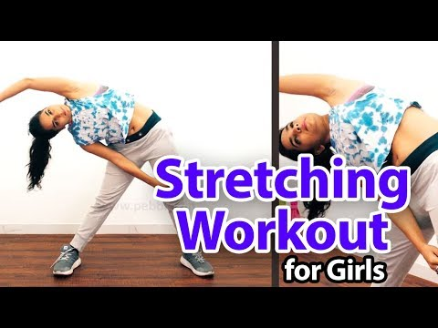 Stretching workout For Girls |  Easy Home Exercises | Stretching | Lose Weight For Girls