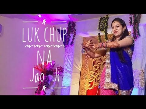 Sangeet dance : Songs, Luk chup na jao ji and Ghoomar, Padmaavat   Indian wedding dance.