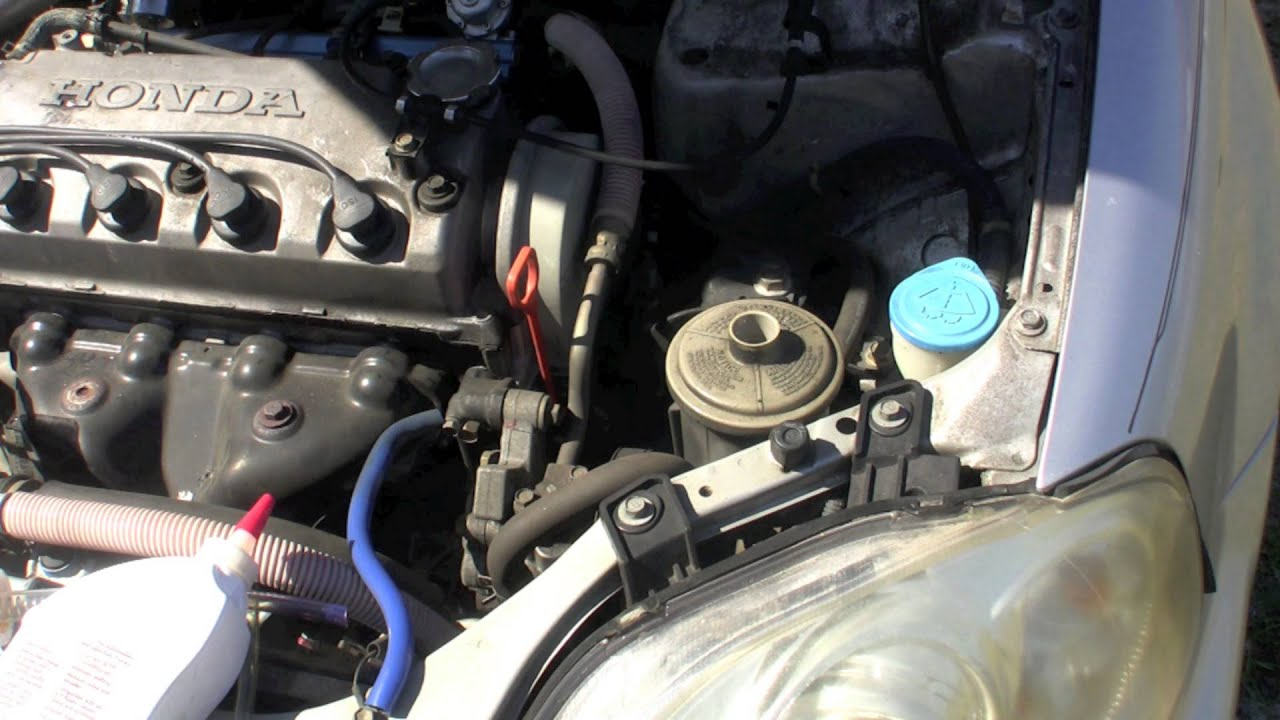 2003 Honda Civic Lx Engine Diagram How To Flush Your Power Steering Fluid Honda Civic Youtube