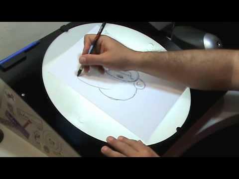 Mesas de dibujo inker youtube for Mesas de dibujo baratas