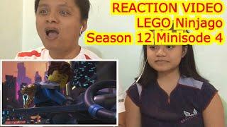 Reaction Video LEGO Ninjago Season 12 Original Shorts Minisode 4 The Stowaway