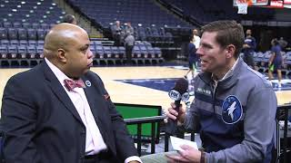 Get to know Timberwolves PA Announcer