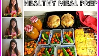 Meal Prep With Me! ☆ @bakingmadgymaddict ☆ Healthy Weekly Food Prep