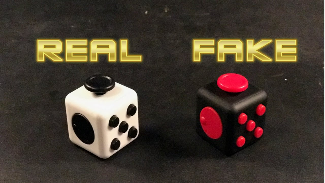 amazing selection great fit best selling FAKE VS REAL FIDGET CUBE | How to know if a fidget cube is fake or not