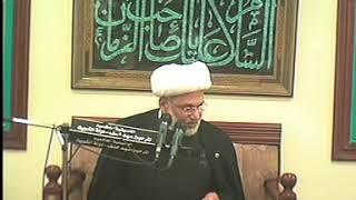 الشيخ زهير الدرورة - معنى وصف أمير المؤمنين عليه السلام بـ\