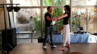Técnica de conducción en Bachata Sensual por Fabian y Nicola