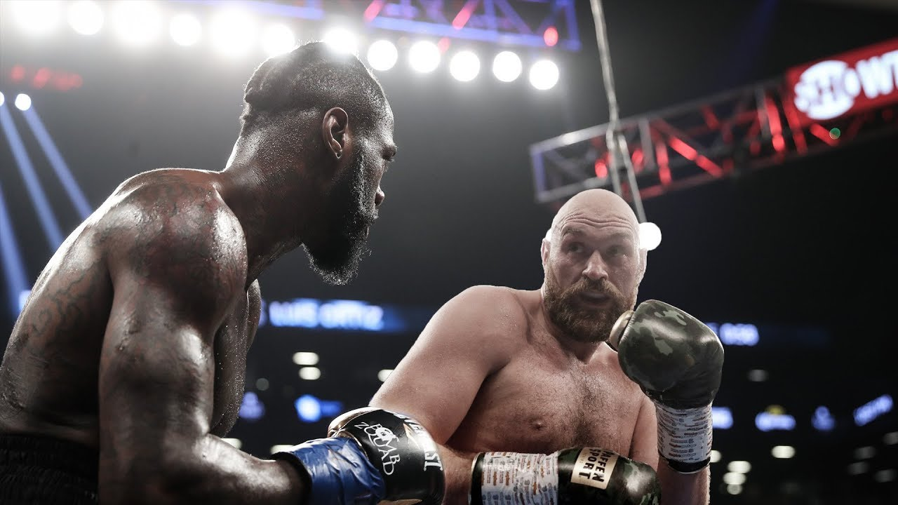 "Резултат с изображение за ""Deontay Wilder vs Tyson Fury"""