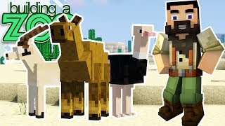 I'm Building A Zoo In Minecraft! - More New Animals! - EP09