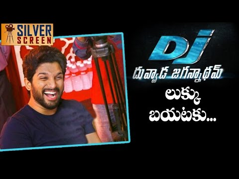 Allu Arjun Not Reveals His Look For DJ...