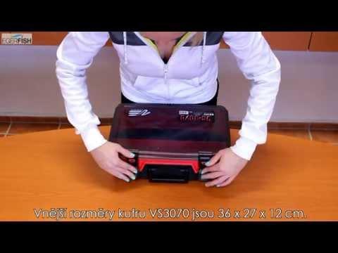 Angelkoffer Meiho Versus VS 3070 Koffer Angeln