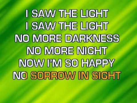 Hank Williams - I Saw The Light Karaoke