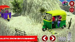 TUK TUK DRIVER OFFROAD DRIVE TRANSPORT PASSENGER | 🛺 TUK TUK DRIVING GAME screenshot 1