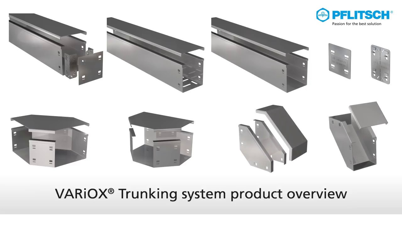 New Cable Trunking System Variox Youtube