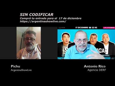 El 17 de diciembre vuelve Sin Codificar en vivo por streaming
