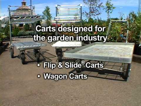 Deluxe Garden Center Shopping Carts