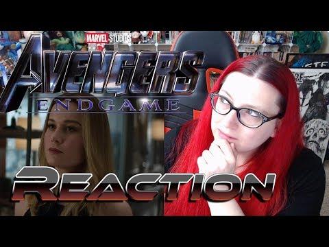 Avengers: Endgame Trailer Reaction