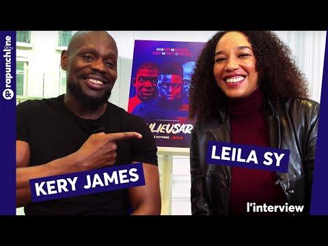 Youtube: Kery James et Leïla Sy nous livrent les secrets de la réussite du film«Banlieusards»!