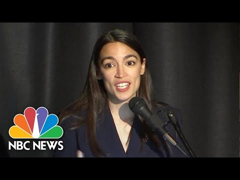 Rep. Ocasio-Cortez Defends Green New Deal In Inaugural Address | NBC News