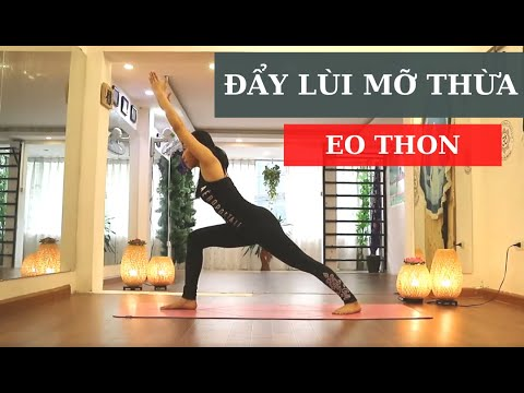 Giảm cân / giảm mỡ hiệu quả qua các bài tập yoga với Luna Thái