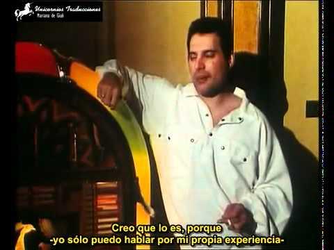 Ultima entrevista a Freddie Mercury (Sub Español)