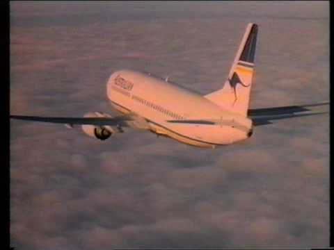 "Brisbane TV 1986 - ""C'mon and Fly Australian Airlines"" (Australian Television Commercial)"