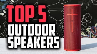 Best Outdoor Speakers in 2018 - Which Is The Best Outdoor Speaker?