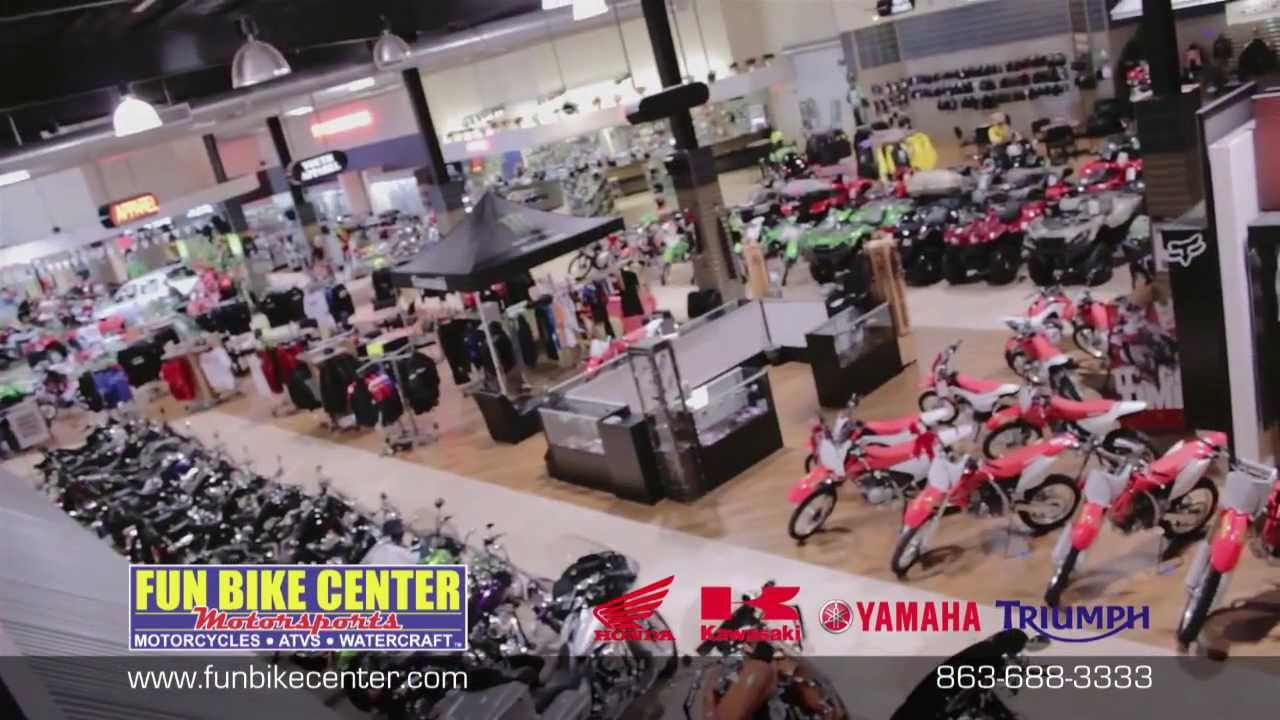 Fun Bike Center Motorsports Lakeland, FL - YouTube