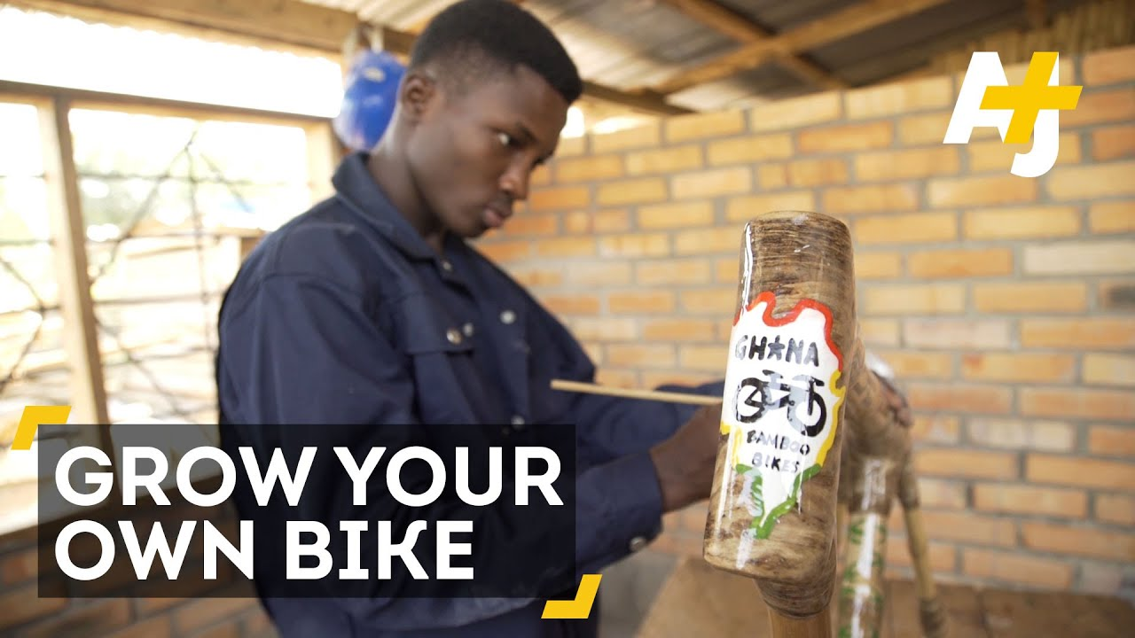 ghanas eco friendly bamboo bikes meet the ghanaian entrepreneur whos building out of