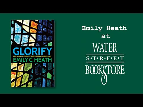 Rev. Emily C. Heath at Water Street Bookstore