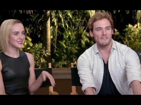 Sam Claflin & Jena Malone Interview - Catching Fire