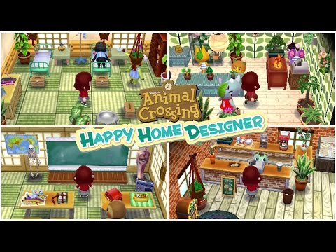 Happy Home Designer :: Main Street Tours :: Hospital, School, Cafe, + Shop