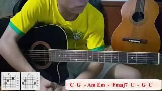 [Guitar] Hướng dẫn đệm hát: Hòn đá cô đơn