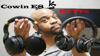 New Upgraded Cowin E8 Headphones vs E7 Pros, Which Should You Buy?!