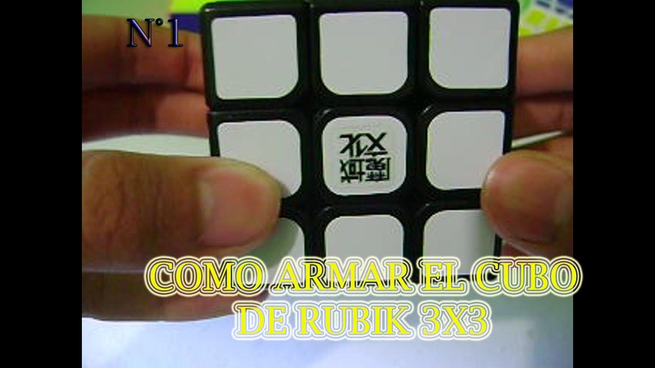 ¿COMO RESOLVER EL CUBO RUBIK 3X3?-PARTE 1 - YouTube
