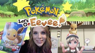 THE BEST POKEMON GAME EVER MADE?! Pokemon Let's Go Eevee Episode 1!