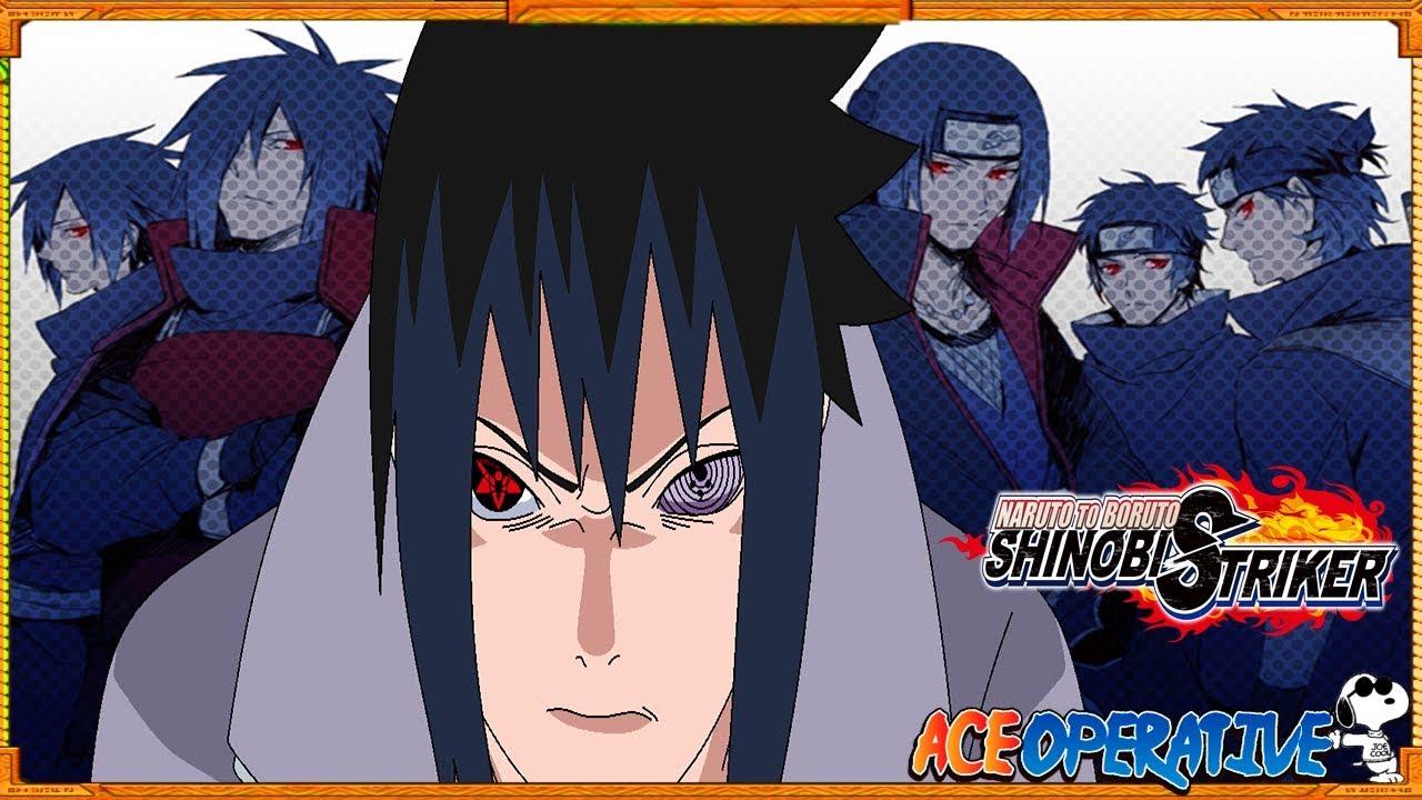 THE REVIVAL OF THE UCHIHA CLAN! CHARACTER CREATION CONFIRMED! Naruto To  Boruto:Shinobi Striker Scan