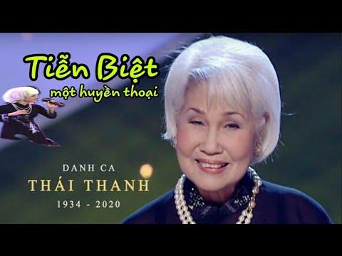 Thái Thanh qua đời || Xin tiễn biệt một Danh Ca huyền thoại