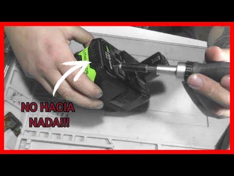 Bateria DE Taladro Atornillador RYOBI 18v NO Carga No ENCIENDE // REPARACION De Bateria Ryobi