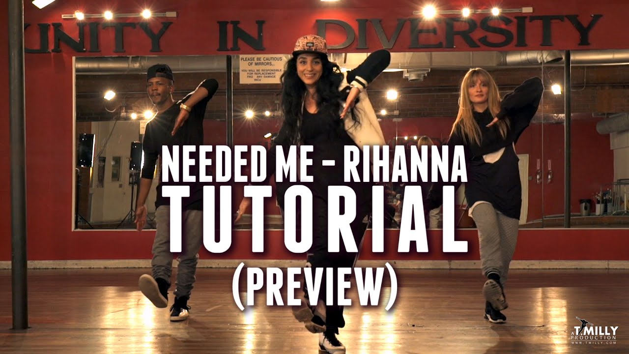 dance tutorial preview needed me rihanna choreography by eden shabtai youtube