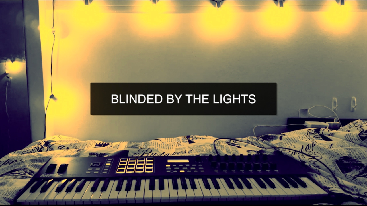 Night lights take my hand lyrics - Blinded By The Lights Dan Caplen Lyric Video