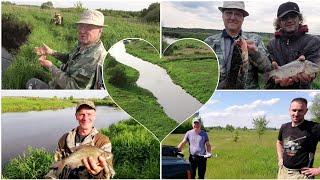 Рыбалка с друзьями на реке Свислочь в Беларуси Ловля сома и другой рыбы