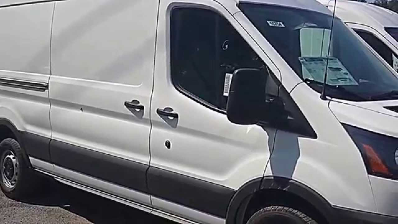 Ford Transit 250 >> 2015 Ford Transit 250 3.2L Powerstroke Diesel Review - YouTube